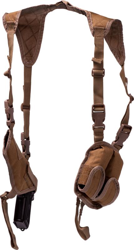 Fondina ascellare in cordura tan equipaggiamento - Porta pistola da spalla ...