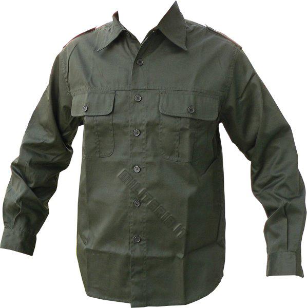 size 40 cd20b cf6b5 Camicia Mod 50 Verde Od