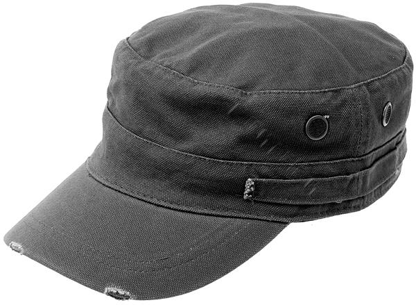 cappello con visiera nero
